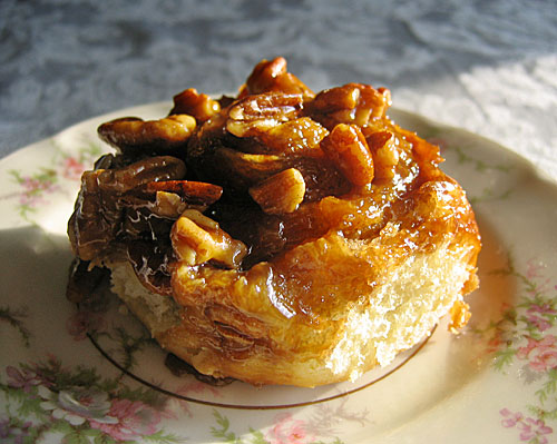 ... of the dough to make this week's recipe: Pecan Honey Sticky Buns