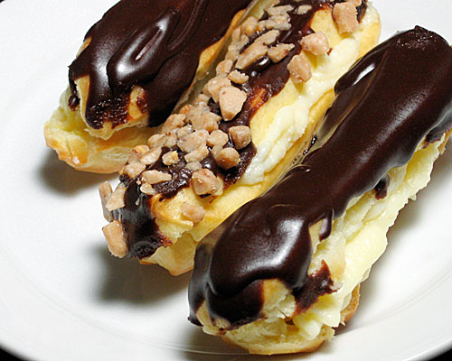 ... : the Chocolate Eclairs found in Chocolate Desserts by Pierre Hermé