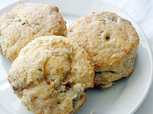 """30 thoughts on """" Pecan Sour Cream Biscuits """""""