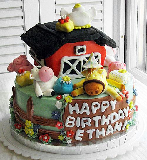 Ethan's Farm Cake