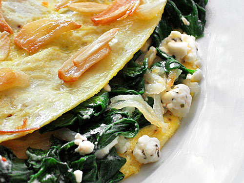 spinach and feta mushroom spinach and feta feta spinach omelette ...