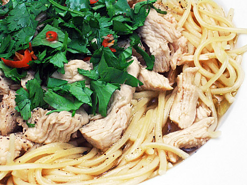 ... ginger soy chicken noodle soup recipe yummly ginger soy chicken noodle