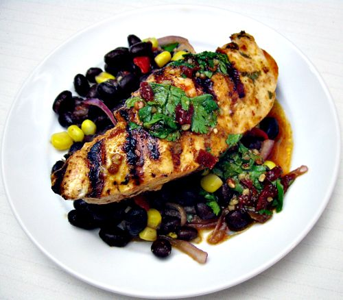 Chicken And Black Bean Tostizzas Recipes — Dishmaps
