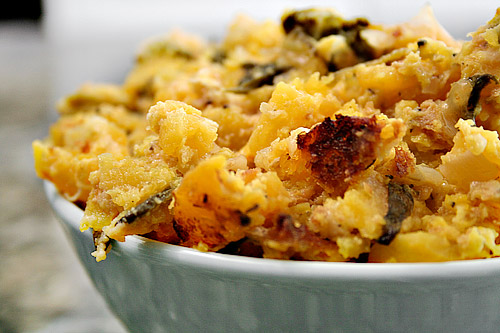 recipe: sweet butternut squash casserole [10]