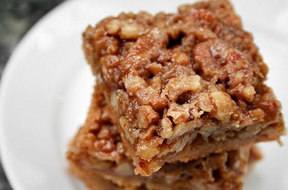 Maple-Pecan Pie Squares