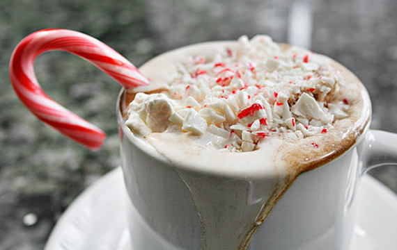 Image result for peppermint hot chocolate