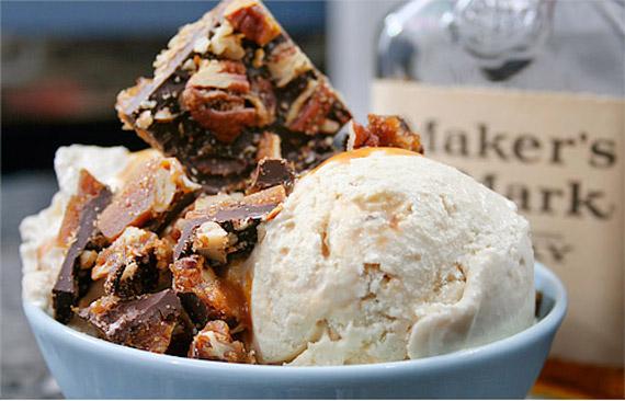 "Mad Men"" Menu: Bourbon Vanilla Ice Cream with Salted Bourbon ..."