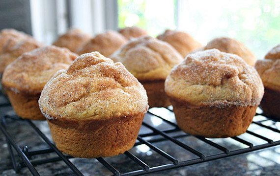 Meatless Monday: Pumpkin Doughnut Muffins