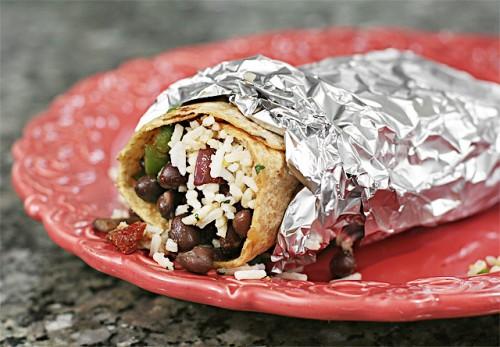 Balck Bean Burrito