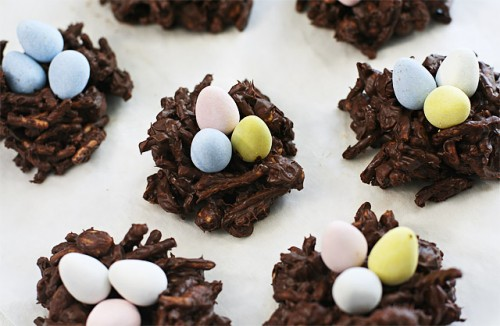 Chocolate Nests by Ezra Pound Cake