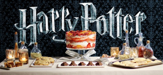 Harry Potter Party Menu Desserts First