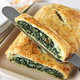 Meatless Monday: Spinach in Puff Pastry