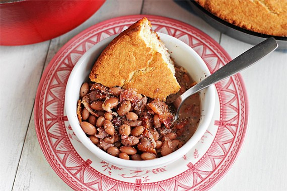 Beans And Cornbread Recipe — Dishmaps