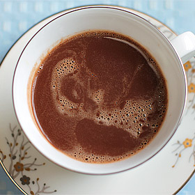 Boozy Hot Chocolate (+ Dating Advice for My Nieces)