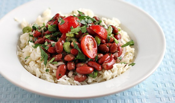Meatless Monday: Red Beans and Rice Salad