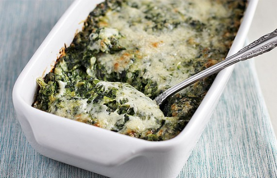Creamed Spinach Gratin | Thanksgiving Side Dishes | Homemade Recipes