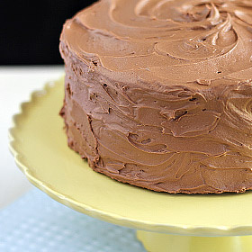 Chocolate Heaven Cake with Chocolate Buttercream