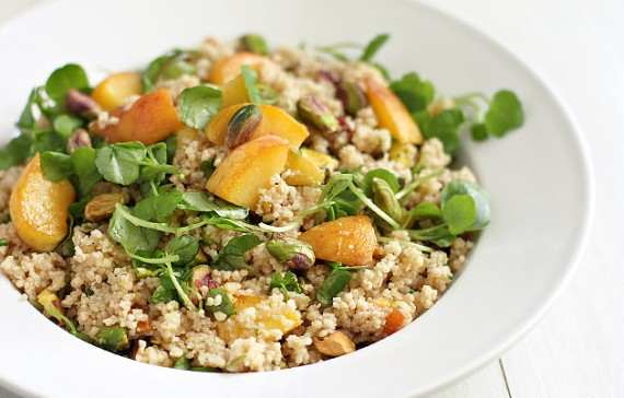 Meatless Monday: Whole Wheat Couscous with Peaches and ...