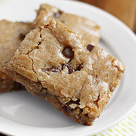 Bourbon Blondies