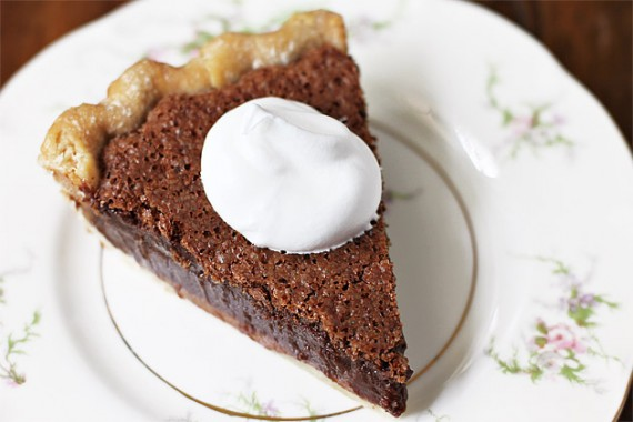 Chocolate Chess Pie Recipe With Cocoa
