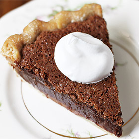 Nana Frances's Chocolate Chess Pie