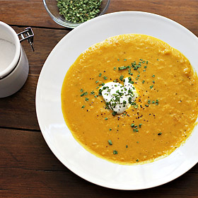 Meatless Monday: Corn and Butternut Squash Chowder