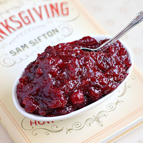 "Basic Cranberry Sauce + Sam Sifton's ""Thanksgiving"""
