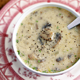Wild Mushroom Soup