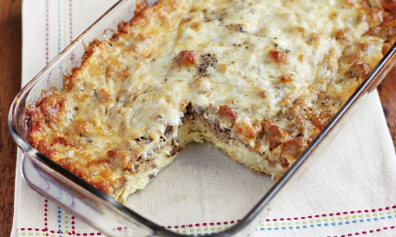 make ahead casseroles