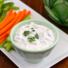 &#039;Mad Men&#039; Week: Light Green Goddess Dip