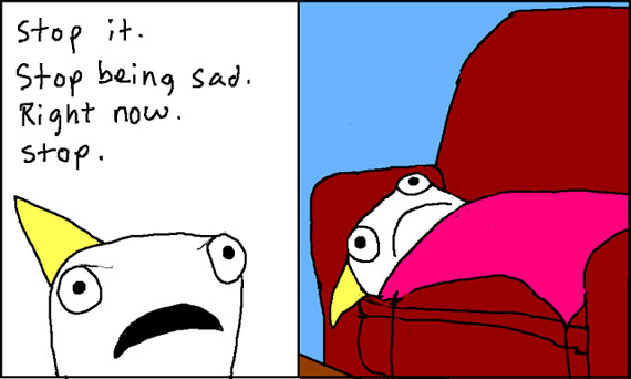"From the post ""Adventures in Depression"" by Allie Brosh (""Hyperbole and a Half"")."