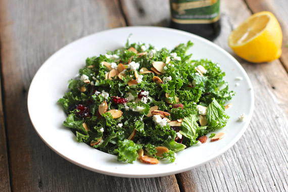 Meatless Monday: Kale Salad with Dried Fruit and Nuts - Ezra Pound ...