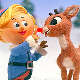 Christmas Challenge #9: Rudolph Appreciation Day!